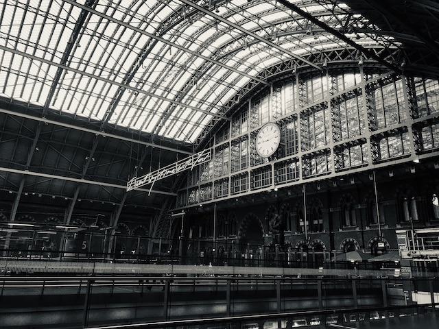 A photo showing the roof of St Pancras station. This post is actually about action learning but I couldn't find an image to accompany it